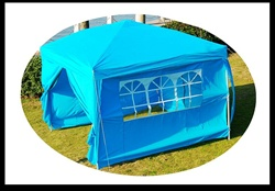 10x10 Blue Easy Set Pop Up Party Tent Canopy Gazebo at Sears.com