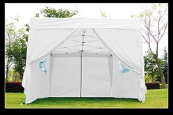10x15 White Easy Set Pop Up Party Tent Canopy Gazebo at Sears.com
