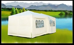 10x20 White Easy Set Pop Up Party Tent Canopy Gazebo at Sears.com