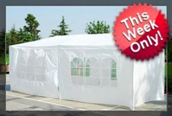 10 x 20 White Gazebo Party Tent Canopy at Sears.com