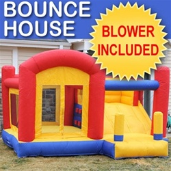 House Bouncer with Blower & Slide
