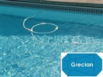Complete 14'x28' Grecian In Ground Swimming Pool Kit with Steel Supports