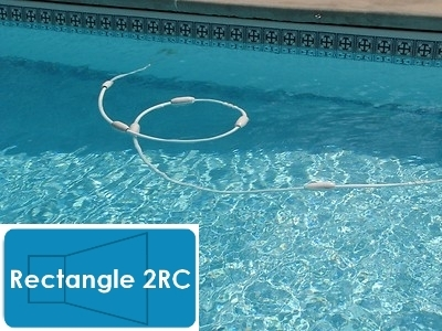 Complete 14'x28' Rectangle 2RC In Ground Swimming Pool Kit with Ste...