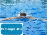 Complete 14'x28' Rectangle 4RC In Ground Swimming Pool Kit with Polymer Supports