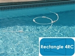 Complete 14'x28' Rectangle 4RC In Ground Swimming Pool Kit with Steel Supports
