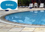 Complete 16'x32' Kidney In Ground Swimming Pool Kit with Wood Supports