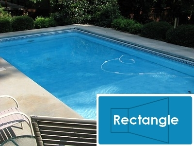 Complete 16 X32 Rectangle Inground Swimming Pool Kit With Polymer Supports