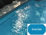 Complete 16'x36' Grecian InGround Swimming Pool Kit with Wood Supports