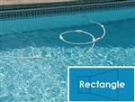 Complete 16'x36' Rectangle InGround Swimming Pool Kit with Wood Supports