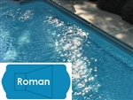 Complete 16'x37' Roman In Ground Swimming Pool Kit with Polymer Supports
