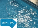 Complete 16'x42' Lazy L 2RC InGround Swimming Pool Kit with Steel Supports