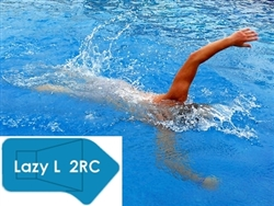 Complete 16'x42' Lazy L 2RC In Ground Swimming Pool Kit with Wood Supports