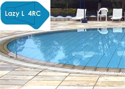 Complete 16'x42' Lazy L 4RC In Ground Swimming Pool Kit with Polymer Supports