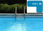 Complete 18x38x26 Full L 4R In Ground Swimming Pool Kit with Wood Supports