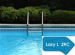 Complete 18'x43' Lazy L 2RC InGround Swimming Pool Kit with Polymer Supports
