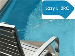 Complete 18'x43' Lazy L 2RC In Ground Swimming Pool Kit with Steel Supports