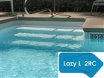 Complete 18'x43' Lazy L 2RC InGround Swimming Pool Kit with Wood Supports