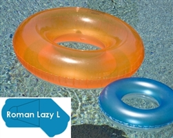 Complete 18'x45' Roman Lazy L  In Ground Swimming Pool Kit with Polymer Supports
