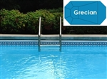 Complete 19'x37' Grecian InGround Swimming Pool Kit with Steel Supports