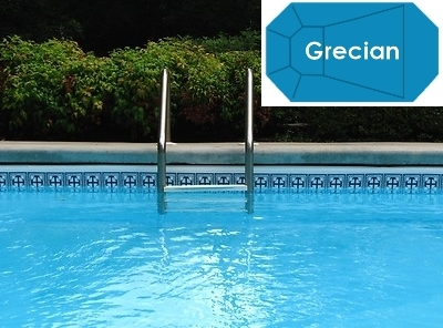 Swimming pool kits for Grecian pool dimensions