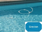 Complete 19'x41' Grecian In Ground Swimming Pool Kit with Steel Supports