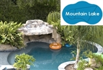Complete 20'x33' Mountain Lake In Ground Swimming Pool Kit with Steel Supports