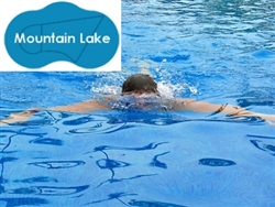 Complete 20'x33' Mountain Lake InGround Swimming Pool Kit with Wood Supports