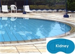 Complete 20'x38' Kidney InGround Swimming Pool Kit with Wood Supports