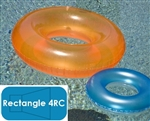 Complete 20'x40' Rectangle 4RC In Ground Swimming Pool Kit with Polymer Supports