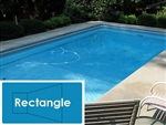 Complete 20'x40' Rectangle InGround Swimming Pool Kit with Polymer Supports