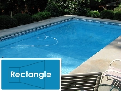 Complete 20 39 x40 39 rectangle inground swimming pool kit with for Cheap rectangle pools