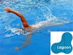 Complete 20x40x30 Lagoon In Ground Swimming Pool Kit with Polymer Supports