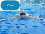 Complete 20'x41' Oval In Ground Swimming Pool Kit with Polymer Supports
