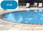 Complete 20'x41' Oval InGround Swimming Pool Kit with Wood Supports