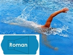 Complete 20'x42' Roman In Ground Swimming Pool Kit with Polymer Supports