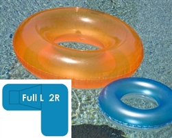 Complete 20x44x30 Full L 2R In Ground Swimming Pool Kit with Polymer Supports