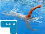 Complete 20x44x30 Full L 4R InGround Swimming Pool Kit with Polymer Supports