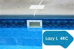 Complete 20'x47' Lazy L 4RC In Ground Swimming Pool Kit with Wood Supports