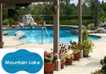 Complete 21'x35' Mountain Lake InGround Swimming Pool Kit with Steel Supports