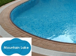 Complete 26'x39' Mountain Lake In Ground Swimming Pool Kit with Steel Supports