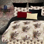 Winged Cross 4 Piece Comforter Set