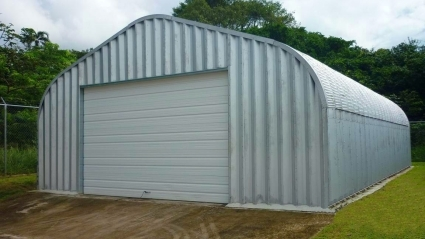 16 X 20 X 12 Metal Residential Garage General Storage