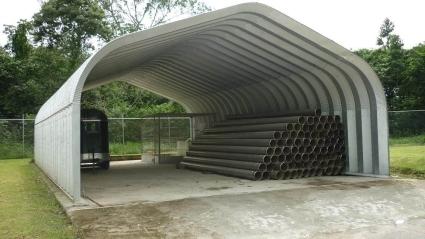 20 X 22 X 12 Metal Garage Storage Building Kit