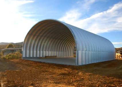 30 x 40 x 14 prefab metal arch cover garage storage building