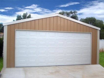 20\' x 20\' x 8\' Steel Frame Shed Garage Building Kit
