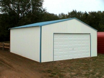 12\' x 20\' x 8\' Steel Frame Shed Garage Building Kit