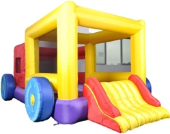 Jump Truck Bounce House Bouncy House with Blower