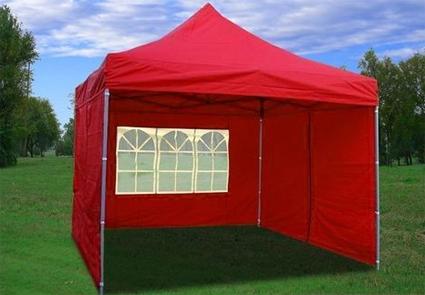 10u0027 x 10u0027 Pop Up Red Party Tent & x 10u0027 Pop Up Red Party Tent
