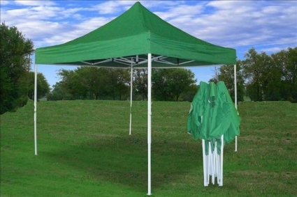 10 X 10 Pop Up Green Party Tent