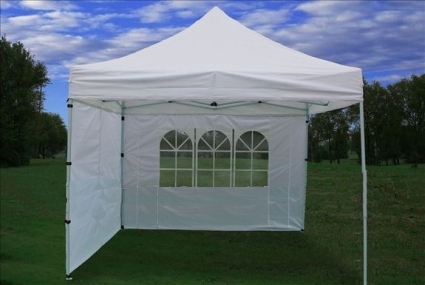 10u0027 x 10u0027 Pop Up White Party Tent & x 10u0027 Pop Up White Party Tent